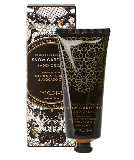 MOR HAND CREAM SNOW GARDENIA 100ML