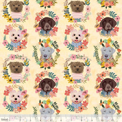 More Floral Pets - Puppy Wreaths