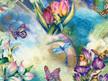 Morning Moon Fairies - Garden
