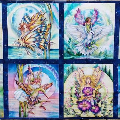 Morning Moon Fairies - Panel