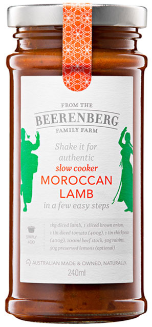 Moroccan Lamb - 240ml