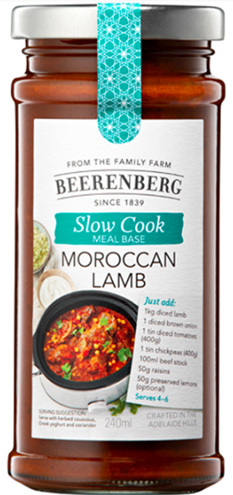 Moroccan Lamb Slow Cooker Sauce - 240ml