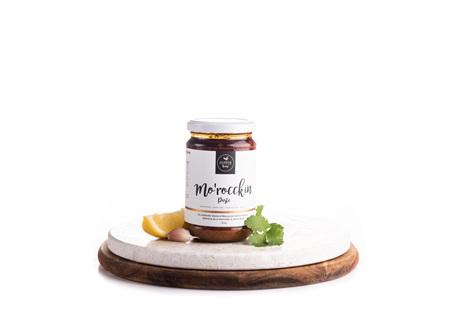 Mo'rocckin Paste 300gm Jar