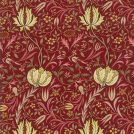 Morris Garden Flora Crimson 733113