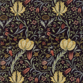 Morris Garden Flora Ebony 733112