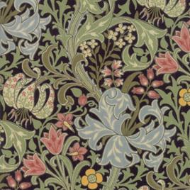Morris Garden Golden Lily Ebony 733013