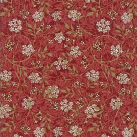 Morris Garden Jasmine Crimson 733213