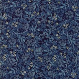 Morris Garden Jasmine Indigo 733217