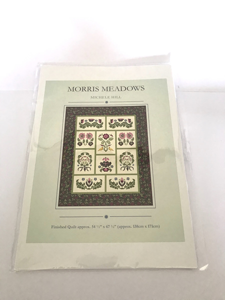 Morris Meadows Applique Quilt Pattern