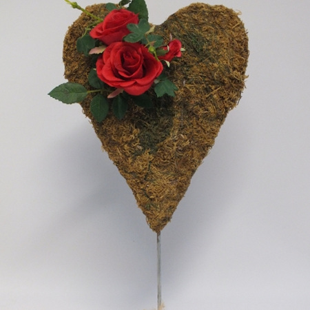 Moss heart on Stand 2184