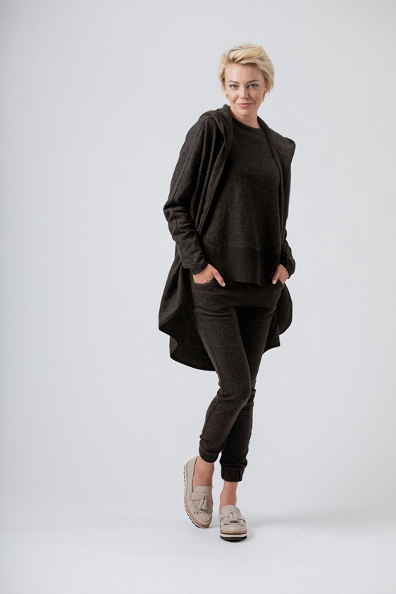 Moss Perry Jacket - Charcoal