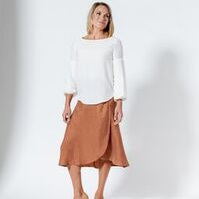 Moss Polly Top - marshmallow