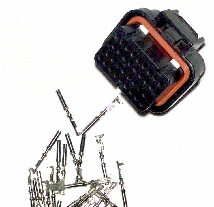 Motec 34 way connector