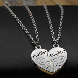 Mother & Daughter 2pk Necklace