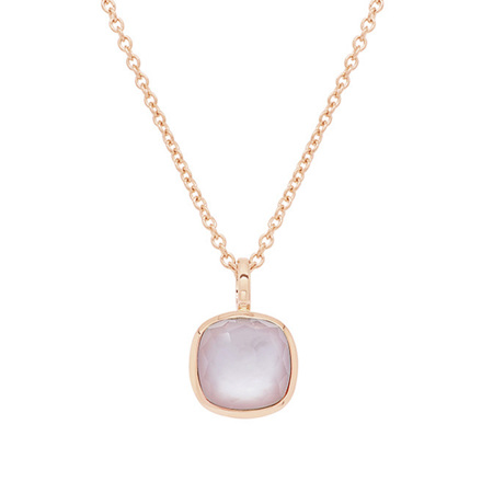 Mother of Pearl Rose Gold Pendant