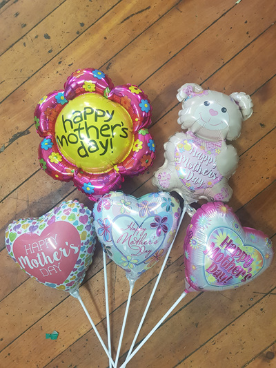 MOTHER'S DAY FOIL BALLOON ON A STICK