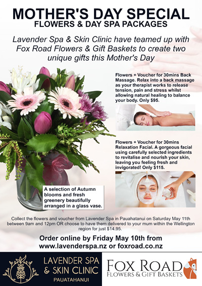 Mother's Day Voucher ($115)