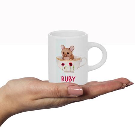 Mouse Personalised Fluffy Mug
