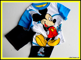 """""""Mouse Tee & Jeans"""""""