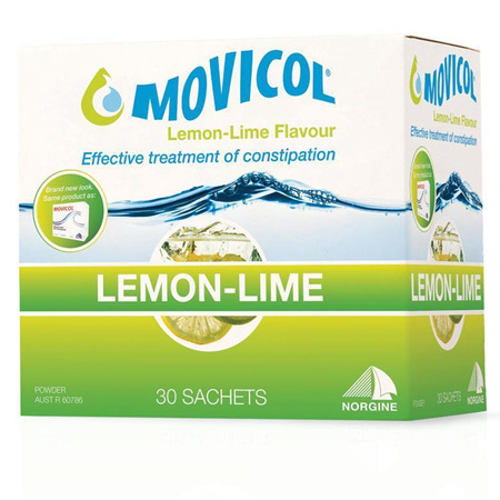 MOVICOL ORIGINAL LEMON LIME 30 SACHET