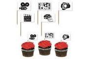 Movie Set Cupcake Picks pack of 50