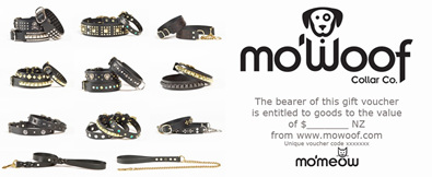 mo'woof collar co. vouchers