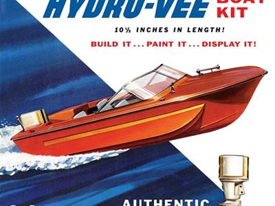 MPC 1/18 Hydro-Vee Boat