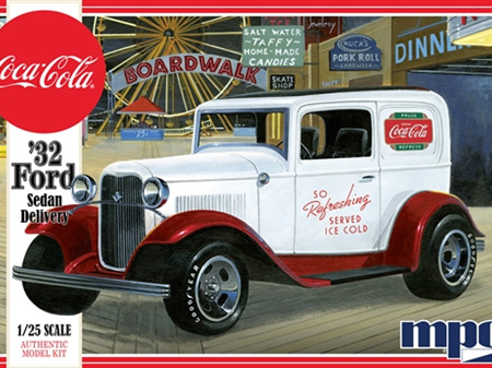 MPC 1/25 1932 Ford Sedan Delivery (Coca Cola)