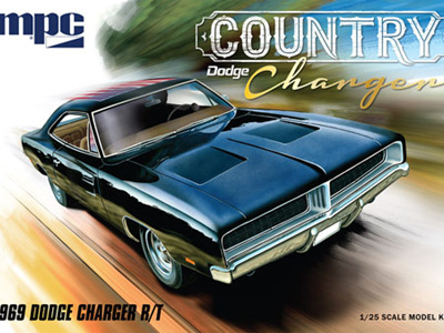 MPC 1/25 1969 Dodge 'Country Charger' R/T