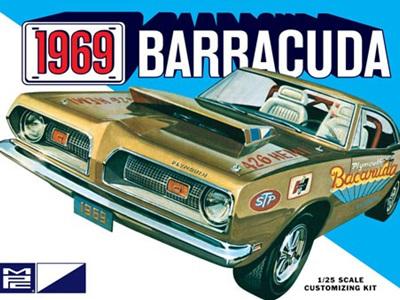 MPC 1/25 1969 Plymouth Barracuda