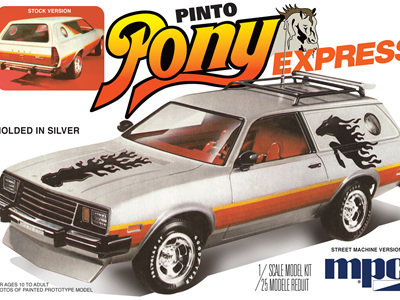 MPC 1/25 1979 Ford Pinto Wagon