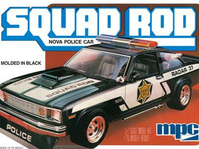 MPC 1/25 79 Nova Squad Rod Police