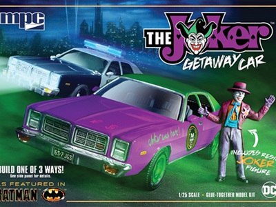 MPC 1/25 Batman/Joker 78 Dodge Monaco
