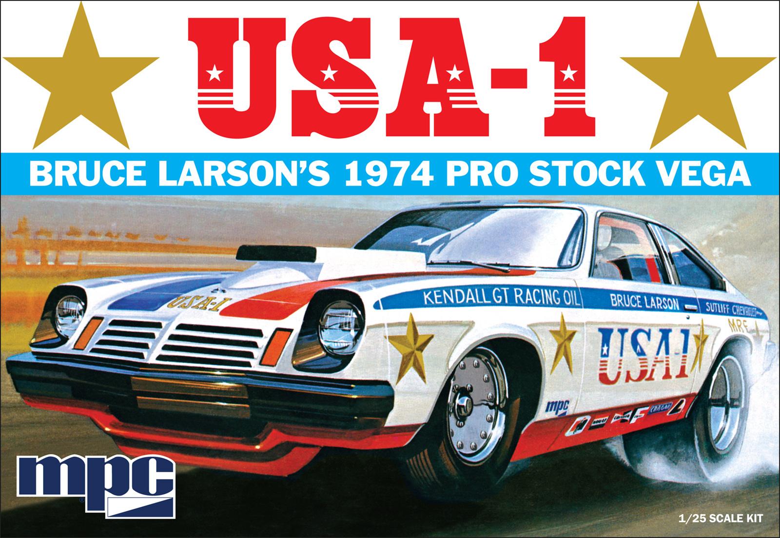 MPC 1/25 Bruce Larson USA-1 Pro Stock Vega - Rick\'s Model Kits