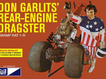MPC 1/25 Don Garlits Swamp Rat 14 Rail Dragster