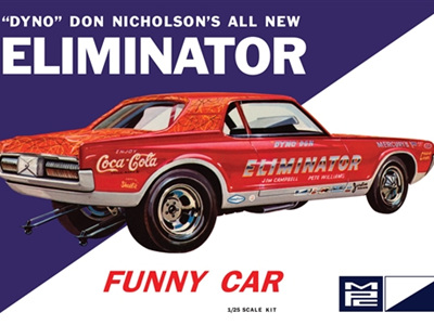 MPC 1/25 Dyno Don Cougar Eliminator