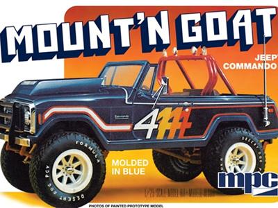 MPC 1/25 Jeep Commando Mount'n Goat