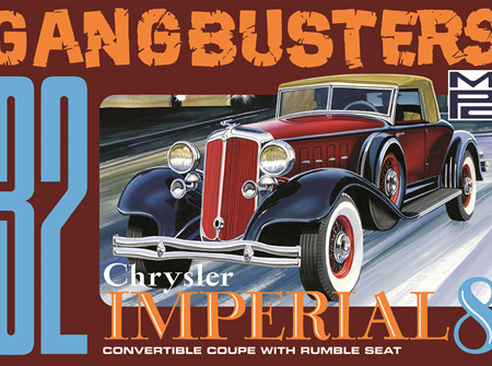 "MPC 1/25 1932 Chrysler Imperial ""Gangbusters"" (MPC926)"