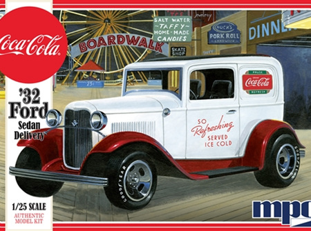 MPC 1/25 1932 Ford Sedan Delivery (Coca Cola) (MPC902)