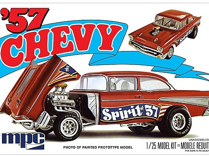 "MPC 1/25 1957 Chevy Flip Nose ""Spirit of 57"""