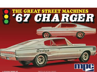 MPC 1/25 1967 Charger Great Street Machines