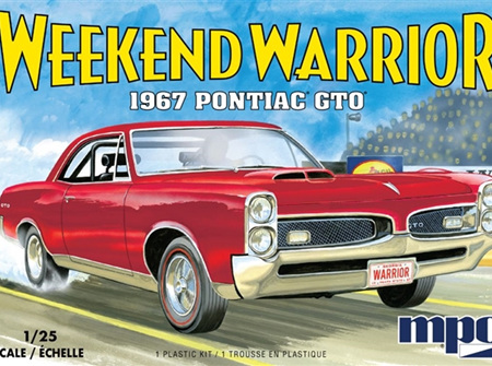 """MPC 1/25 1967 Pontiac GTO """"Weekend Warrior"""" Race Version with Starting Light (MPC918)"""