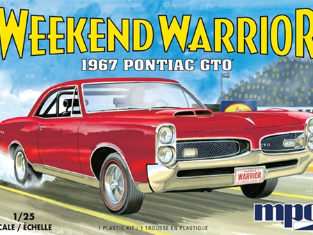 "MPC 1/25 1967 Pontiac GTO ""Weekend Warrior"" Race Version with Starting Light"