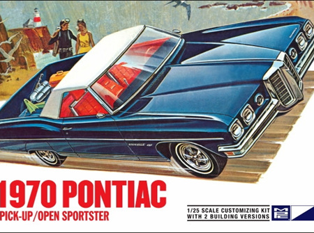 MPC 1/25 1970 Pontiac Bonneville Convertible (2 'n 1) Open Sportster or Pickup