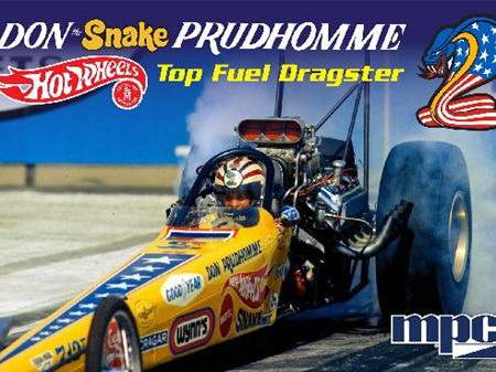 MPC 1/25 1972 Don Snake Prudhomme Rear Engine Dragster