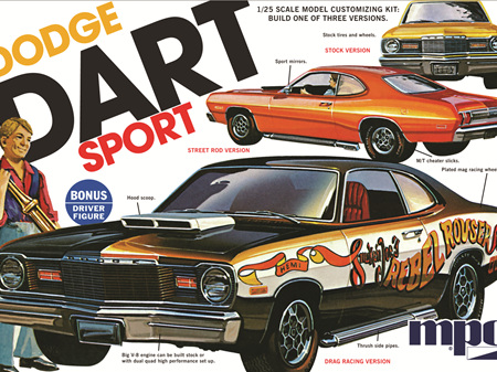 MPC 1/25 1975 Dodge Dart Sport