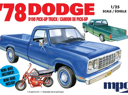 MPC 1/25 1978 Dodge D100 Custom Pickup (MPC901)