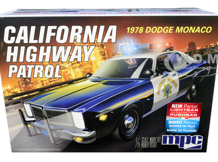 MPC 1/25 1978 Dodge Monaco CHP Police Car (MPC922)
