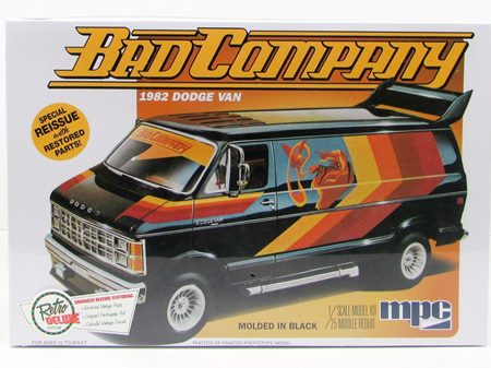 MPC 1/25 1982 Dodge 'Bad Company' Van