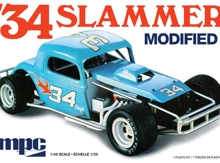 MPC 1/25 34 Slammer Modified (MPC927)